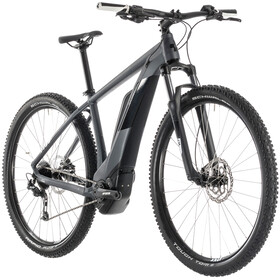 Cube Reaction Hybrid ONE 400 E-mountainbike grå